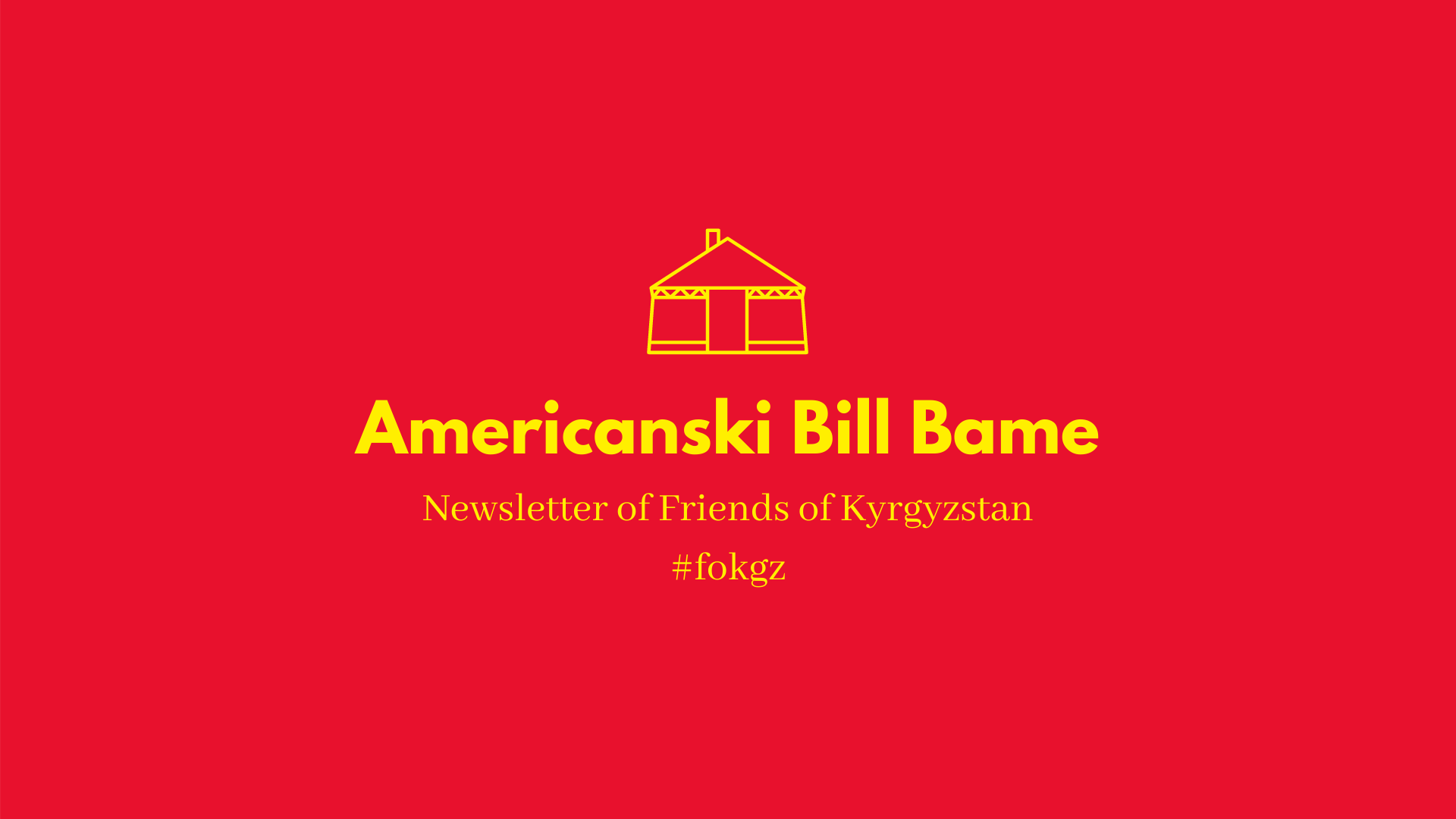 Americanski Bill Bame - July 2007